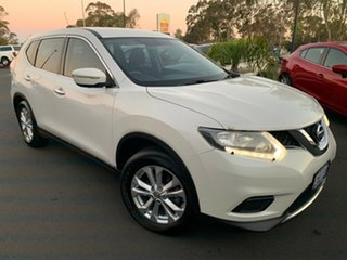 2016 Nissan X-Trail T32 TS X-tronic 2WD White 7 Speed Constant Variable Wagon.