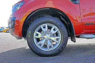 2014 Ford Ranger PX Wildtrak Double Cab Orange 6 Speed Sports Automatic Utility