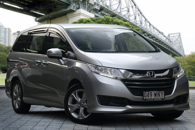 Used Honda Odyssey RC MY16 VTi, 2016 Honda Odyssey RC MY16 VTi Super Platinum 7 Speed Constant Variable Wagon