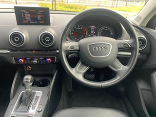 2016 Audi A3 8V MY16 Attraction S Tronic Black 7 Speed Sports Automatic Dual Clutch Sedan