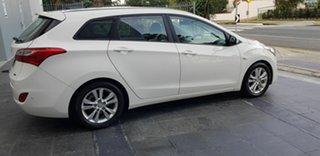 2015 Hyundai i30 GD Tourer Active 1.6 CRDi White 6 Speed Automatic Wagon
