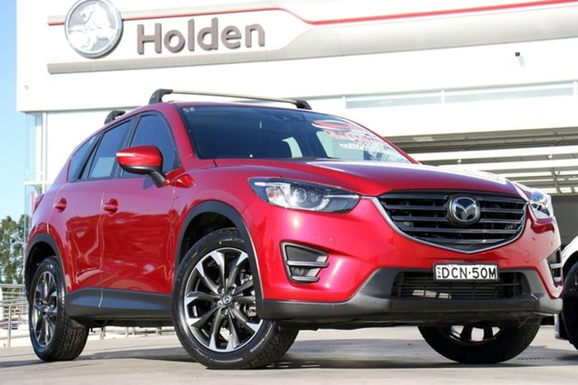 Used Mazda CX-5 KE1022 Akera SKYACTIV-Drive AWD, 2015 Mazda CX-5 KE1022 Akera SKYACTIV-Drive AWD Soul Red 6 Speed Sports Automatic Wagon