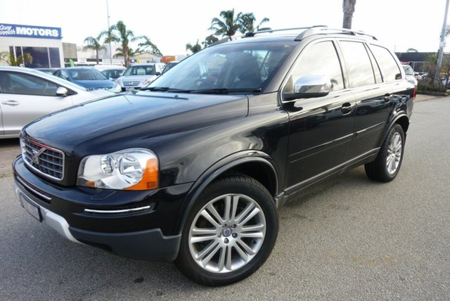 Used Volvo XC90 MY09 3.2 Executive, 2008 Volvo XC90 MY09 3.2 Executive Black 6 Speed Automatic Geartronic Wagon