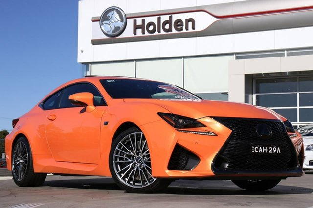Used Lexus RC USC10R RC F, 2014 Lexus RC USC10R RC F Lava Mica 8 Speed Sports Automatic Coupe