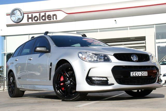 Used Holden Commodore VF II MY17 SS V Sportwagon Redline, 2017 Holden Commodore VF II MY17 SS V Sportwagon Redline Silver 6 Speed Sports Automatic Wagon