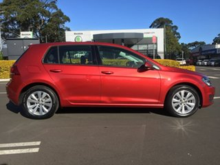 2015 Volkswagen Golf VII MY16 92TSI DSG Comfortline Red 7 Speed Sports Automatic Dual Clutch