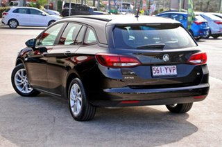 2018 Holden Astra BK MY18 LS+ Sportwagon Black 6 Speed Sports Automatic Wagon.