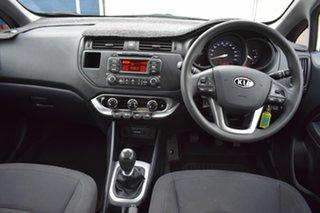 2011 Kia Rio JB MY11 S White 5 Speed Manual Hatchback