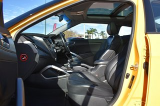2012 Hyundai Veloster FS + Coupe Yellow 6 Speed Manual Hatchback