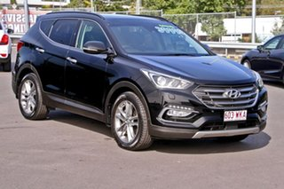 2015 Hyundai Santa Fe DM3 MY16 Highlander Black 6 Speed Sports Automatic Wagon.