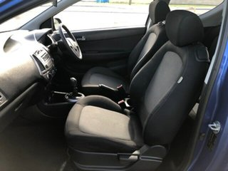 2013 Hyundai i20 PB MY13 Active Blue 6 Speed Manual Hatchback
