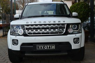 2016 Land Rover Discovery Series 4 L319 MY16.5 SDV6 HSE White 8 Speed Sports Automatic Wagon