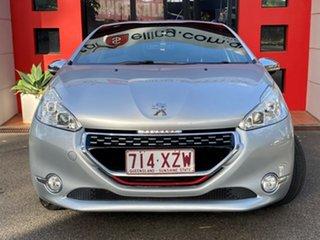 2013 Peugeot 208 A9 MY13 GTi Metallic Silver 6 Speed Manual Hatchback
