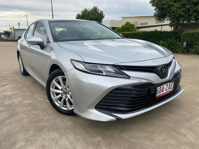 Used Toyota Camry ASV70R Ascent, 2019 Toyota Camry ASV70R Ascent Silver 6 Speed Sports Automatic Sedan