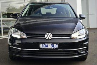 2019 Volkswagen Golf 7.5 MY19.5 110TSI DSG Comfortline Black 7 Speed Sports Automatic Dual Clutch