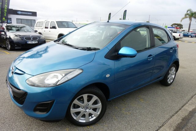 Used Mazda 2 DE MY14 Neo Sport Cheltenham, 2013 Mazda 2 DE MY14 Neo Sport Blue 5 Speed Manual Hatchback