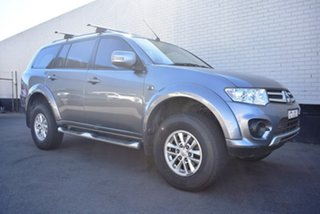 2014 Mitsubishi Challenger PC (KH) MY14 Grey 5 Speed Sports Automatic Wagon.