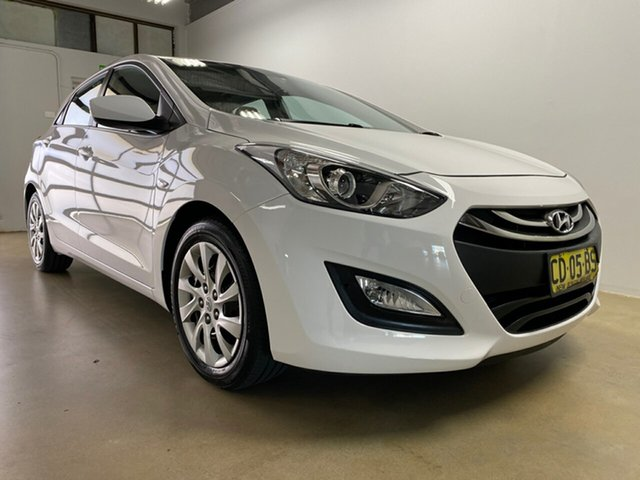 Used Hyundai i30 GD MY14 Active, 2014 Hyundai i30 GD MY14 Active White 6 Speed Automatic Hatchback