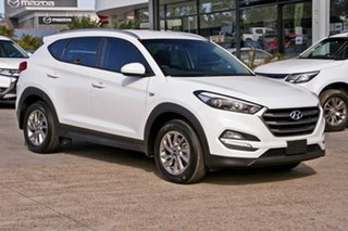 2017 Hyundai Tucson TL2 MY18 Active AWD White 6 Speed Sports Automatic Wagon.