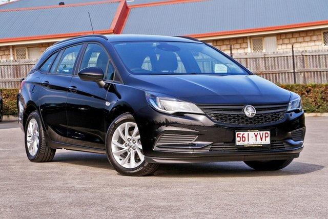 Used Holden Astra BK MY18 LS+ Sportwagon, 2018 Holden Astra BK MY18 LS+ Sportwagon Black 6 Speed Sports Automatic Wagon