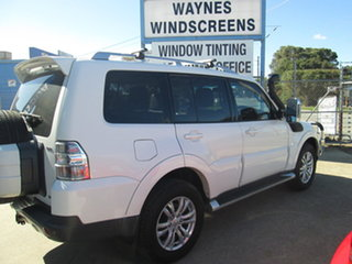 2007 Mitsubishi Pajero NS Exceed White 5 Speed Automatic Wagon