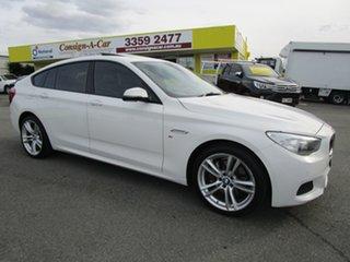 2014 BMW 5 Series F07 LCI 520d Gran Turismo Steptronic M Sport White 8 Speed Sports Automatic.