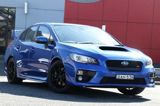 Used Subaru WRX V1 MY16 STI AWD Premium, 2015 Subaru WRX V1 MY16 STI AWD Premium Blue 6 Speed Manual Sedan