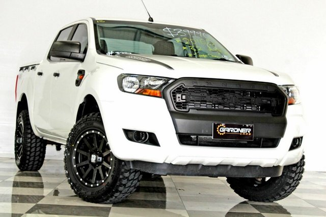 Used Ford Ranger PX MkII MY17 XL 3.2 (4x4), 2016 Ford Ranger PX MkII MY17 XL 3.2 (4x4) White 6 Speed Automatic Crew Cab Utility