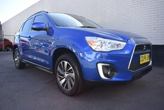 2014 Mitsubishi ASX XB MY15 LS Blue 6 Speed Sports Automatic Wagon.
