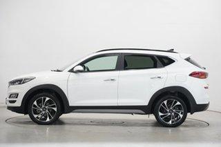 2019 Hyundai Tucson TL3 MY19 Highlander D-CT AWD Pure White 7 Speed Sports Automatic Dual Clutch.
