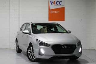 2018 Hyundai i30 PD2 MY18 Active Silver 6 Speed Sports Automatic Hatchback.