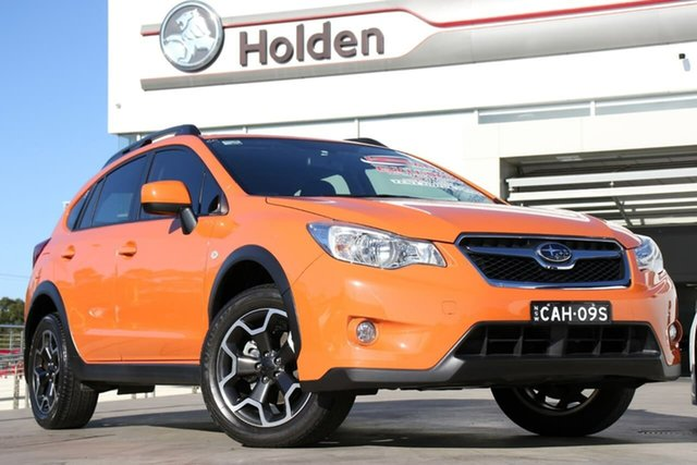 Used Subaru XV G4X MY14 2.0i Lineartronic AWD, 2014 Subaru XV G4X MY14 2.0i Lineartronic AWD Tangerine Orange 6 Speed Constant Variable Wagon