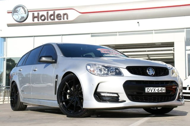Used Holden Commodore VF II MY16 SS Sportwagon Black, 2016 Holden Commodore VF II MY16 SS Sportwagon Black Silver 6 Speed Sports Automatic Wagon
