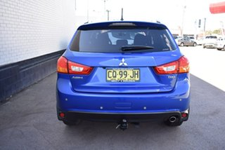 2014 Mitsubishi ASX XB MY15 LS Blue 6 Speed Sports Automatic Wagon