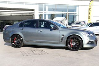 2014 Holden Special Vehicles ClubSport Gen-F MY14 R8 Prussian Steel 6 Speed Manual Sedan.