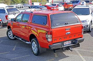 2014 Ford Ranger PX Wildtrak Double Cab Orange 6 Speed Sports Automatic Utility.