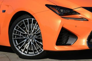 2014 Lexus RC USC10R RC F Lava Mica 8 Speed Sports Automatic Coupe