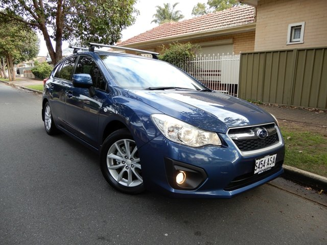 Used Subaru Impreza G4 MY12 2.0i-L AWD, 2012 Subaru Impreza G4 MY12 2.0i-L AWD Blue 6 Speed Manual Hatchback