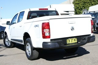 2014 Holden Colorado RG MY14 LX Crew Cab White 6 Speed Sports Automatic Utility