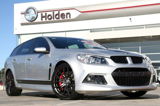 Used Holden Special Vehicles ClubSport Gen-F MY14 R8 Tourer, 2013 Holden Special Vehicles ClubSport Gen-F MY14 R8 Tourer Silver 6 Speed Sports Automatic Wagon