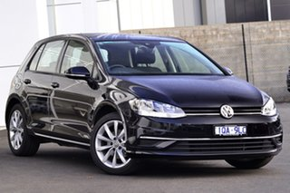 2019 Volkswagen Golf 7.5 MY19.5 110TSI DSG Comfortline Black 7 Speed Sports Automatic Dual Clutch.