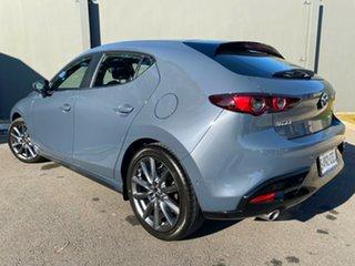 2020 Mazda 3 BP2HLA G25 SKYACTIV-Drive Evolve Polymetal Grey 6 Speed Sports Automatic Hatchback.