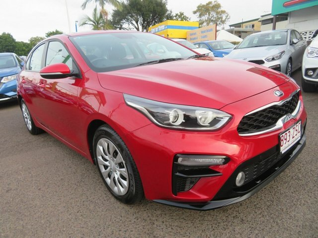 Used Kia Cerato BD MY20 S, 2019 Kia Cerato BD MY20 S Red 6 Speed Sports Automatic Sedan