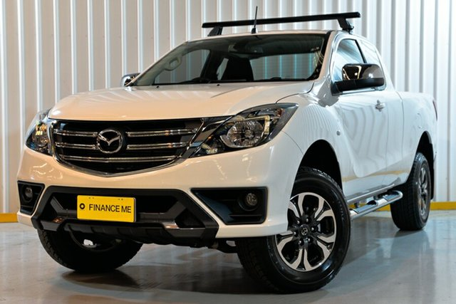 Used Mazda BT-50 UR0YG1 XTR Freestyle, 2018 Mazda BT-50 UR0YG1 XTR Freestyle White 6 Speed Sports Automatic Utility