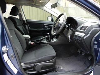 2012 Subaru Impreza G4 MY12 2.0i-L AWD Blue 6 Speed Manual Hatchback
