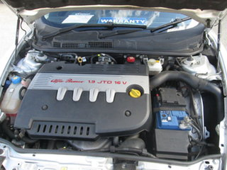 2010 Alfa Romeo 147 - JTD M-JET Silver 6 Speed Manual Hatchback