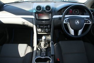 2012 Holden Commodore VE II MY12 SV6 Blue 6 Speed Manual Sedan