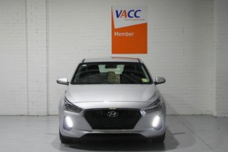 2018 Hyundai i30 PD2 MY18 Active Silver 6 Speed Sports Automatic Hatchback