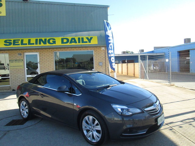 Used Holden Cascada CJ Mandurah, 2015 Holden Cascada CJ - Grey 6 Speed Automatic Convertible