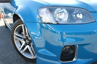 2012 Holden Commodore VE II MY12 SV6 Blue 6 Speed Manual Sedan.